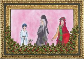The 3 Christmas Ghosts by LadyBlackheart
