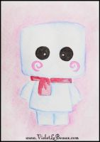 Marshmallow ACEO by VioletLeBeaux