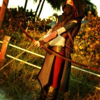 Lord of the Rings Female Ithilean Ranger by MickeyFlint