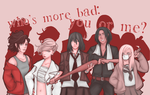 SNK - who's more bad by Chibi-Reina