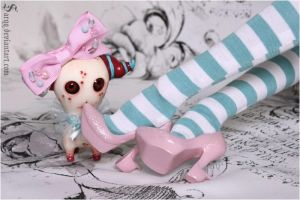 CANDY SHOES OM NOM NOM by Sarqq