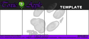 Toxic Apple Template by Velairennil