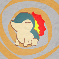 cyndaquil by timehwimeh