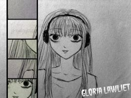 Gloria Lawliet #2 by Glooriah