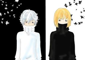 Mello and Near by Lamliet