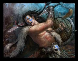 Barbarian by skor2d