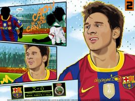2 Lionel Messi FC Barcelona by akyanyme