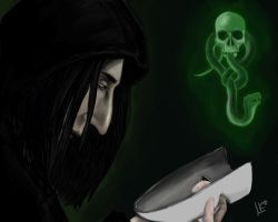 Death eater by Kleolanda