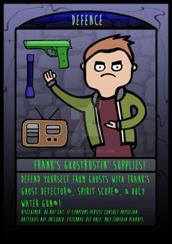 The Frighteners Card 1- Frank by kickm