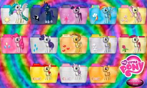 MLP Colorflow Folder Icons by SchnuffelKuschel