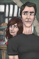 the dead girl and the pieman by Awkwardly-Social