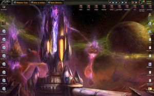 Current Desktop - Warcraft by aibou