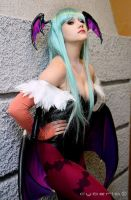 Morrigan Aensland Cosplay by Paz-Cosplay