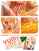 Yum!Jinka Support Artbook Preview by MortMorrison