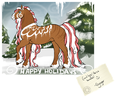 PeaFrie Advent Calendar - Day 11 by gyngercookie