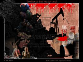 Blood for Oil:writevli by No-More-Ignorance