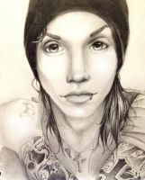 Andy Biersack by Kaspiian