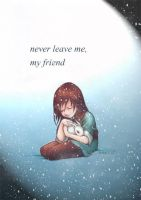 Haku - never leave me, my friend by nackmu