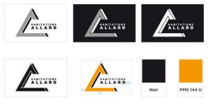 Habitations Allard's Logo by QuadixStudio