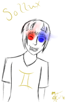 Sollux Doodle by maybemorgansonfire