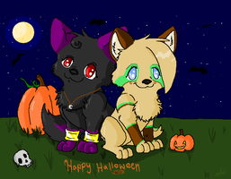 Happy Halloween - Gift by SasoriDanna94