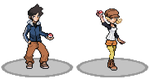Pokemon Dusk Red Heroes Lars and Margo by Pkmn-Dusk-Red