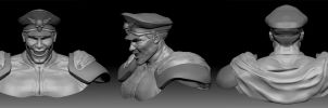 M.Bison Military by Danwhitedesigns