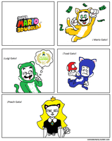 Comix #8 - Mario Gatos by AlexCharly