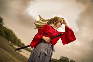 Gintama the movie 2 :: Okita Sougo by soulCerulean