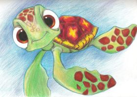 Squirt from Finding Nemo :D by BlackRoseXOX