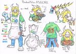 BrokenTale Asgore by ZeldaOkamifreak