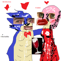 SANIC THE HODGHOG GOT A GURL by SnoodleMuffins