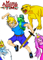 Adventure Time Manga Colored by Asten-94