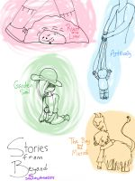Stories from Beyond by SketchyArtist2015