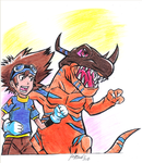Digimon Adventure by PeoGabi