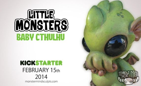 Baby Cthulhu coming to Kickstarter by Kahiah