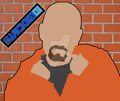 Minimalist Walter White by 310Wicked13