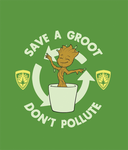 Save A Groot (T-shirt) by Sound-Resonance