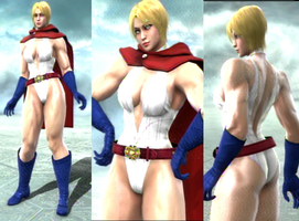 SCV : Power girl by Celso33