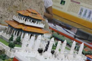 Mini Model of the Jade Buddha Temple by meikko