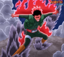 Naruto 668 - Hachimon Tonkou No Jin by KhalilXPirates