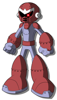 Mega Man Redux's Break Man by JusteDesserts