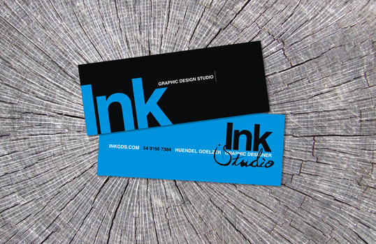 Ink - Business Card by hndlback