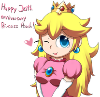 Happy 30th, Princess Peach! by PokuMii