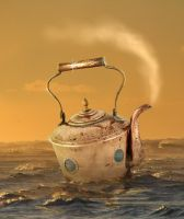 Tea Kettle Boat by Pac0daTac0