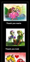 than you mario and link... by MGZE