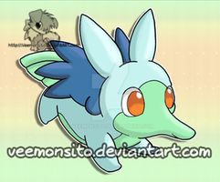 Water Starter - Antaqua by Veemonsito