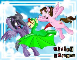 Fliying Lessons (Original Color) by BOAStudio