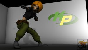 Kim Possible 3D Posed by SpiderTech