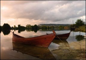 Viking's Boats are ready by Ilmatarja